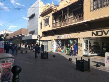 Peatonal Caseros y Mitre